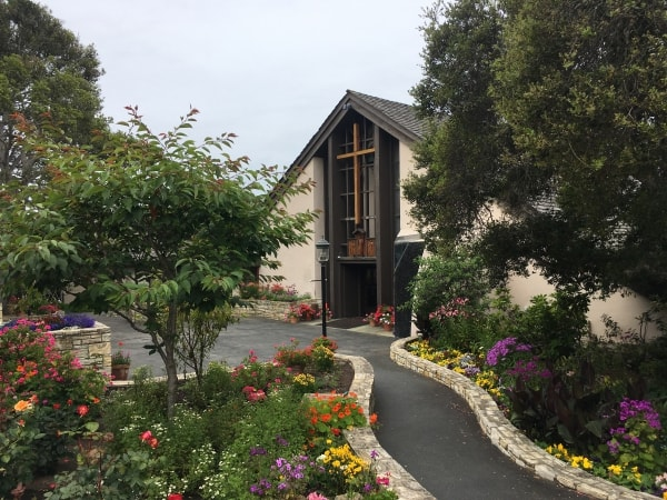 All Saints' Episcopal Church in Carmel, CA