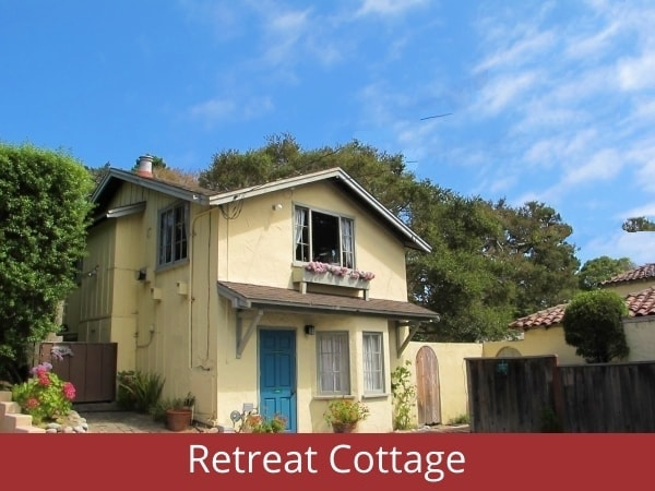 Spiritual retreat cottage at All Saints' church Carmel, California