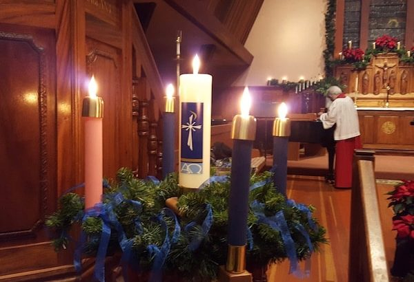 Advent Candles All Saints Carmel