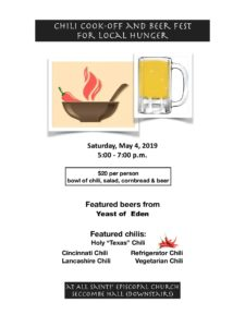 Chili Cook-Off & Beer Fest for Local Hunger @ All Saints' Episcopal Church | Carmel-by-the-Sea | California | United States