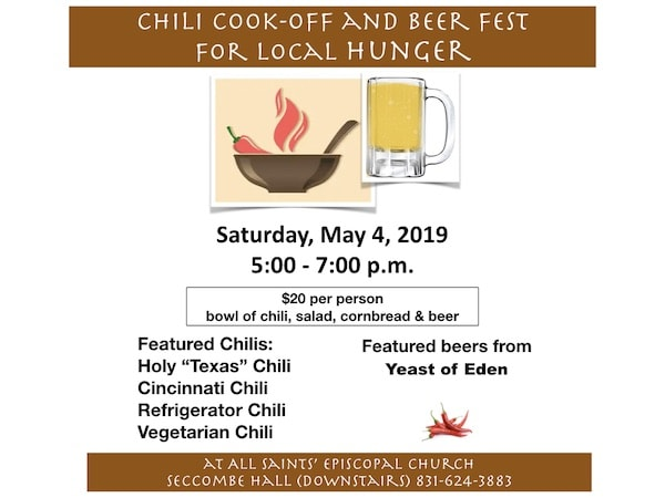 Chili Cook-Off and Beer Fest All Saints' Church Carmel California
