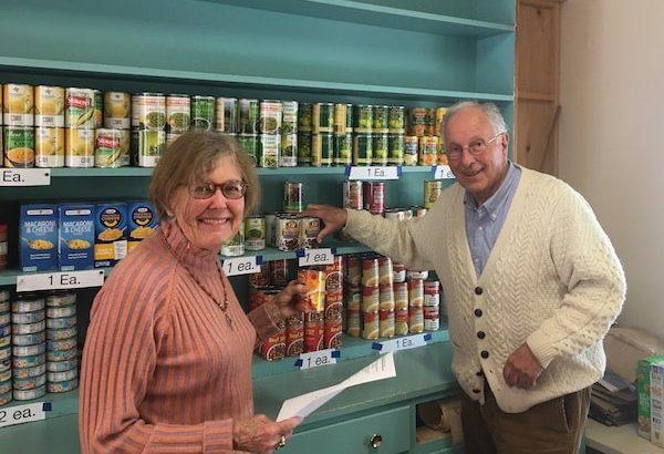 Food Pantry New Distribution All Saints' Church Carmel California