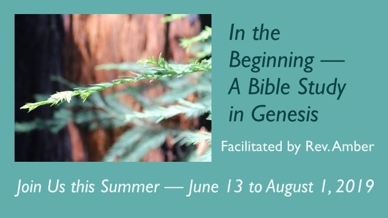 In the Beginning Genesis Bible Study 2019 All Saints' Church Carmel California