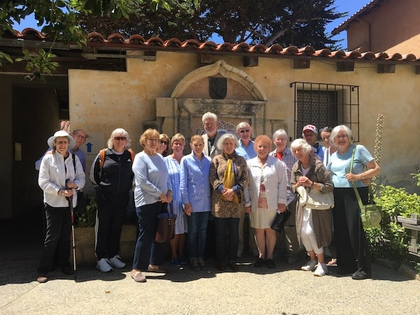 All Saints' Pilgrims Carmel Mission Pilgrimage All Saints' Church Carmel California