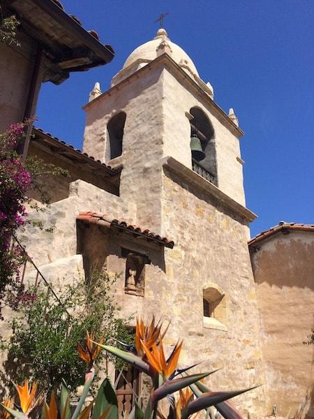 Tower Carmel Mission Pilgrimage All Saints' Carmel California