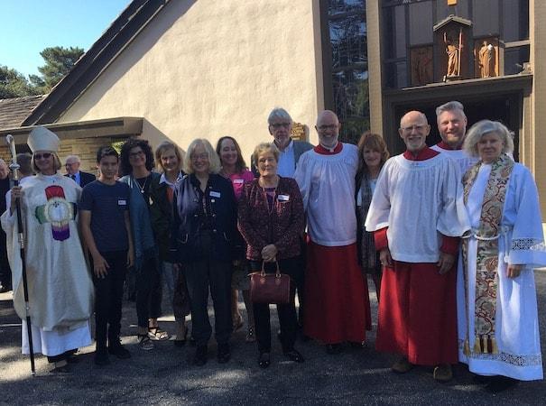 Confirmation Reception Consecration All Saints' Church Carmel California