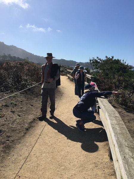 Pilgrim Trail Pt Lobos Pilgrimage All Saints' Church Carmel California