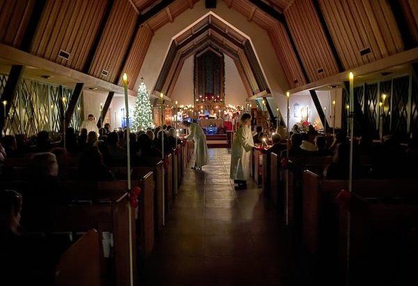 New Candlelight Christmas Eve All Saints' Church Carmel California