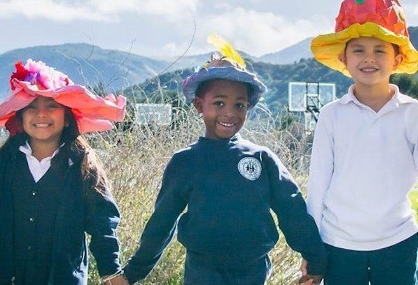 ASDS Kids Hats Pilgrimage 2020 All Saints Church Carmel California