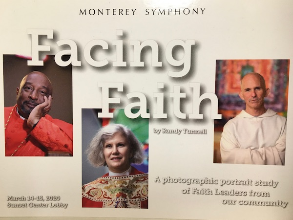 Facing Faith Art Show at Sunset Center Features All Saints' Rector Carmel California