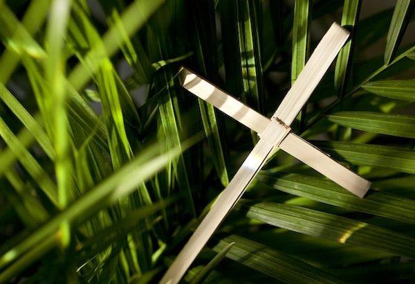 palm sunday service 2020 all saints church carmel california
