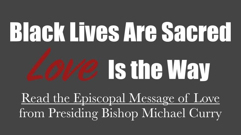 Black Lives Matter All Saints' Episcopal Church Carmel California